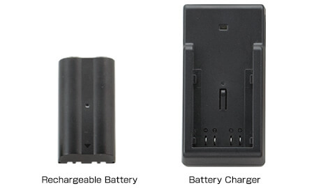 RECHARGEABLE BATTERY AVAILABLE (Optional)